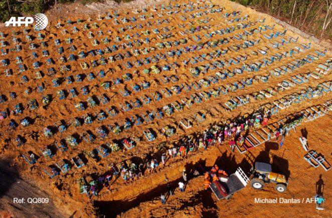 Masowe groby w Brazylii