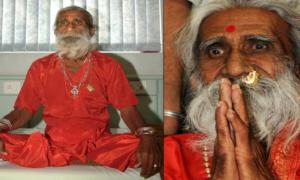 Zmarł jogin, który nie jadł i nie pił od kilkudziesięciu lat. Jani miał 90 lat