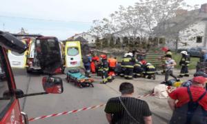 Pijany kierowca wjechał w dzieci na chodniku. Ranni chłopcy trafili do szpitala