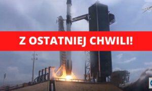 Historyczna chwila: Rakieta Nasa i SpaceX właśnie wystartowała w kosmos!