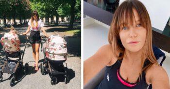 córka Lewandowskiej wciąż jeździ w wózku