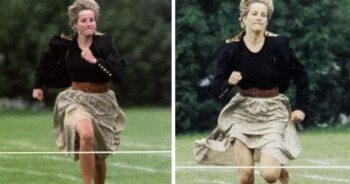 Diana złamała królewski protokół