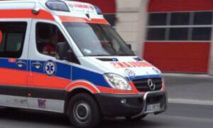 2-letni chłopiec wypadł z balkonu. Od śmierci dzieliły go centymetry