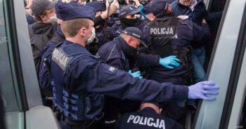 kary za hejt na policjantów