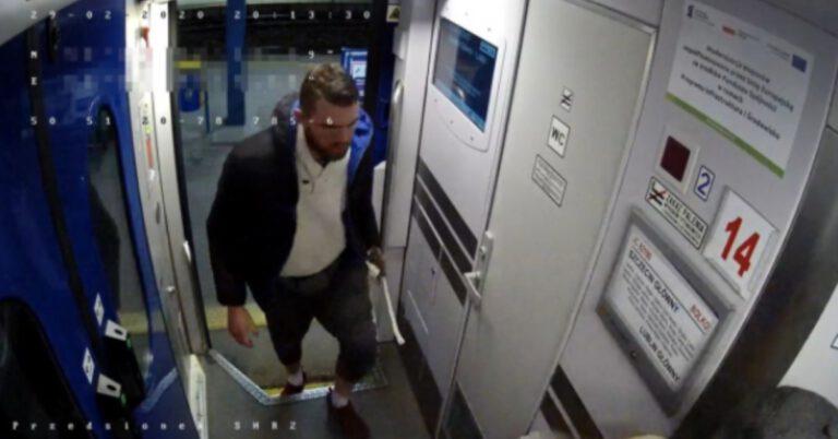 policja szuka złodzieja