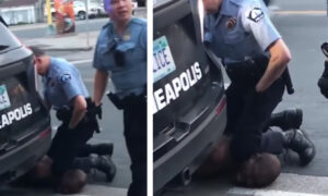 """""""Błagam, nie mogę oddychać"""". Policjant udusił na oczach ludzi podejrzanego"""