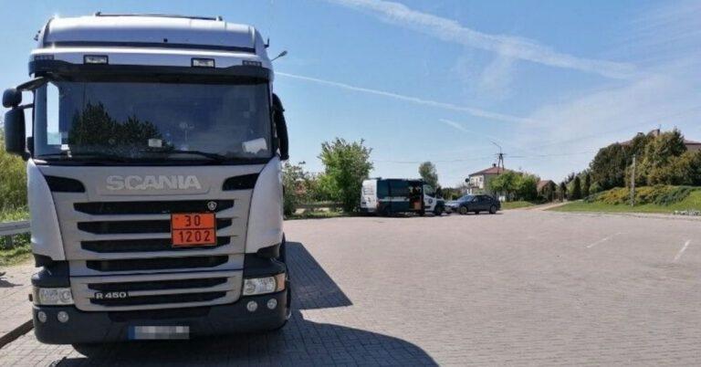 Polski kierowca zamordowany