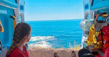 Senior chciał zobaczyć morze