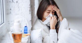 Spadek zachorowań na grypę
