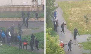 Strzelanina pod Kijowem z udziałem przedsiębiorców. Są ranni!