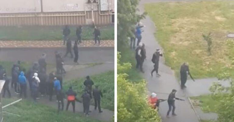 Strzelanina pod Kijowem