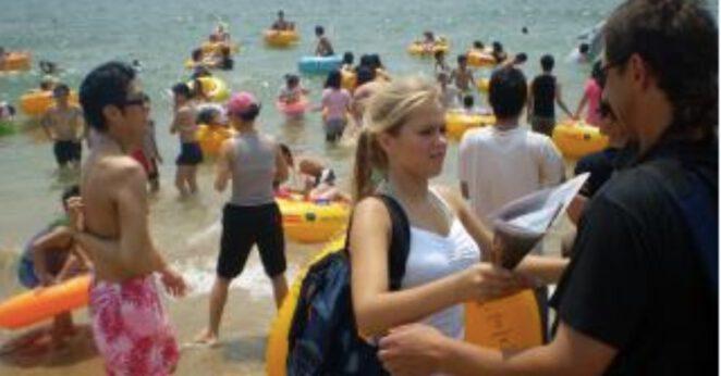 limit osób na plaży