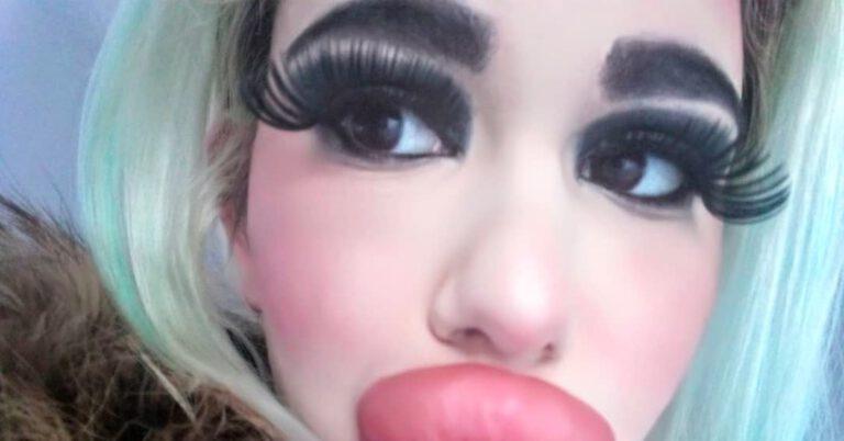 żywa Barbie z Bułgarii