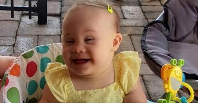 Śmierć dziecka z zespołem Downa