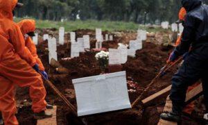 Masowe zakażenie koronawirusem podczas pogrzebu! Skrajna głupota żałobników