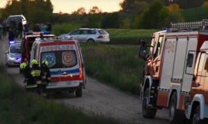 2-latek wpadł pod koła ciągnika. Chłopiec walczy o życie w szpitalu