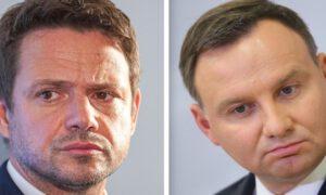 Rafał Trzaskowski wygrywa w sondażu. Wyborcy wciąż wahają się na kogo oddać głos