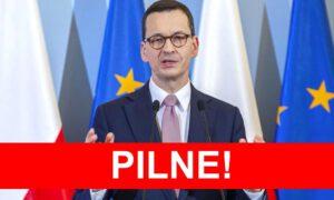 II stopień alarmowy w całym kraju. Premier Morawiecki uważa to za konieczność