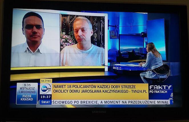Jacek Żalek wyrzucony ze studia TVN