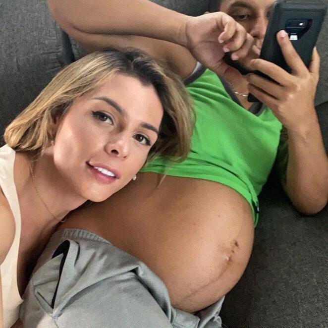 Kolumbijska modelka zostanie mamą