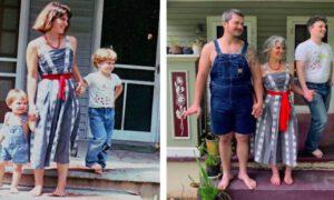 Po latach odtworzyli swoje stare zdjęcia. Efekt jest powalający!