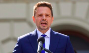 """Rafał Trzaskowski o Lechu Kaczyńskim: """"Byłem z niego dumny"""""""