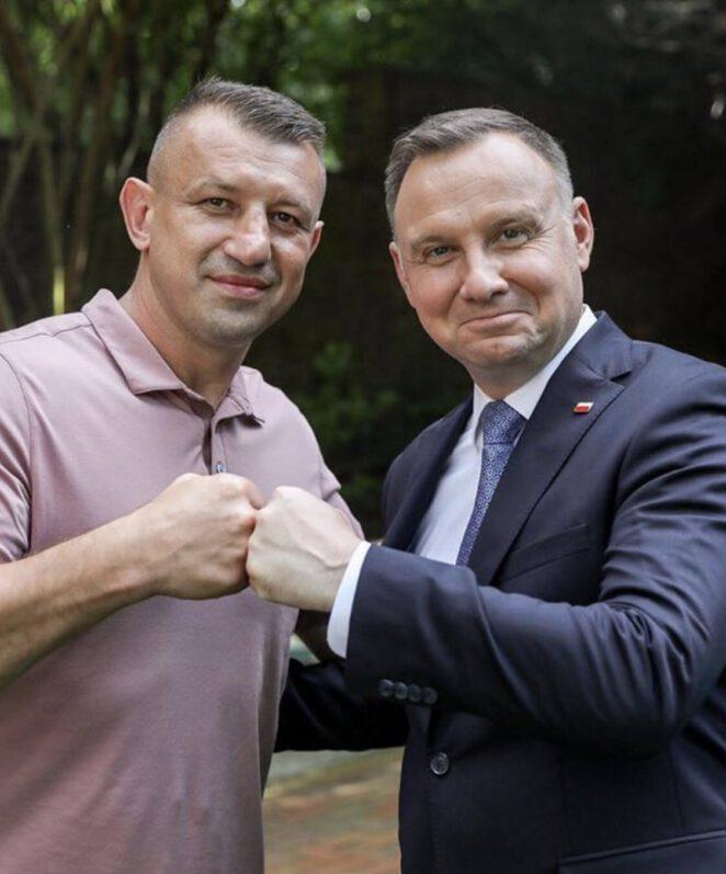 Tomasz Adamek zdradził na kogo zagłosuje