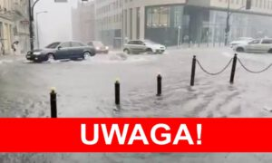 Warszawa zalana