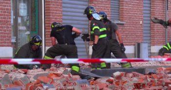 Zawalenie budynku we Włoszech