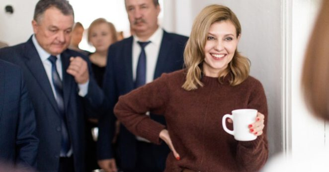 Pierwsza dama Ukrainy w szpitalu