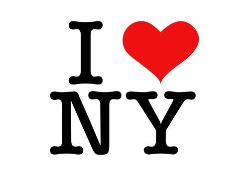 autor znaku I love NY