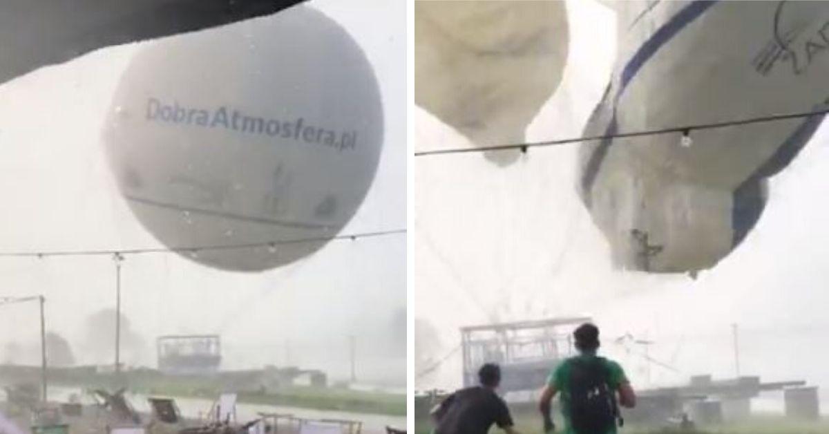 Balon w Krakowie