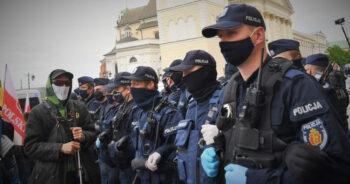 nagrody dla policjantów za walkę z epidemią