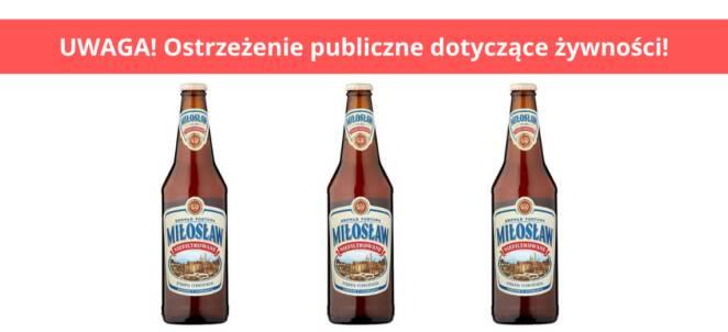 Piwo wycofane ze sklepu