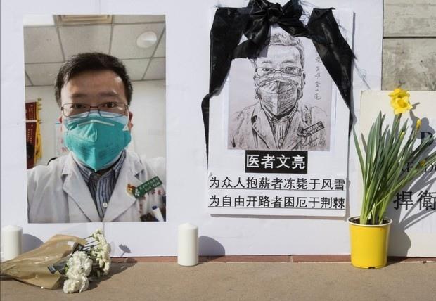 pogrobowiec bohaterskiego lekarza z Wuhan 3