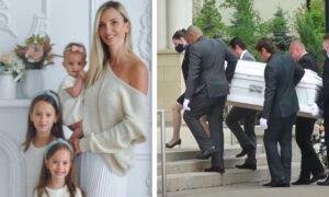 Pogrzeb Polki i jej córek, które spoczęły w białych trumnach poruszył Ontario
