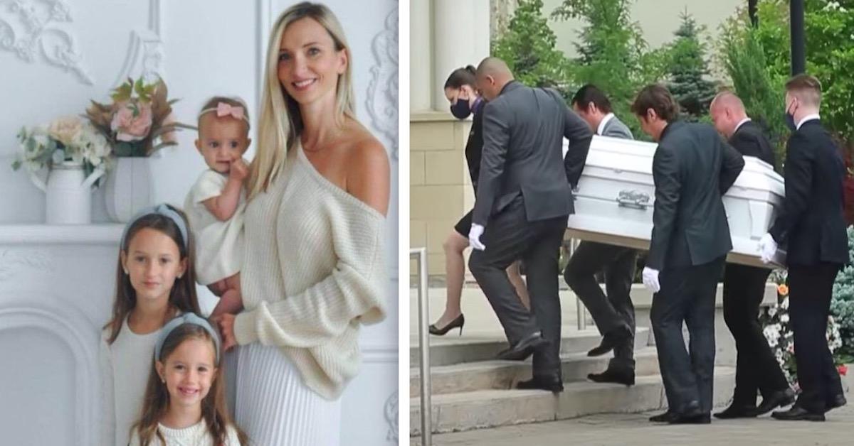 pogrzeb Polki i jej córek