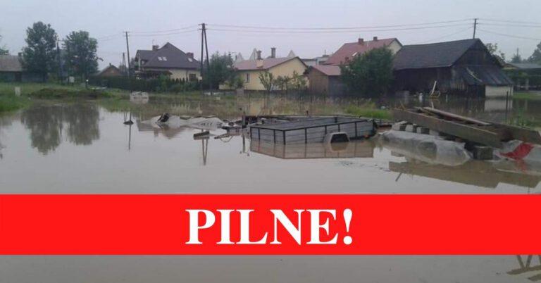 Powódź na Podkarpaciu