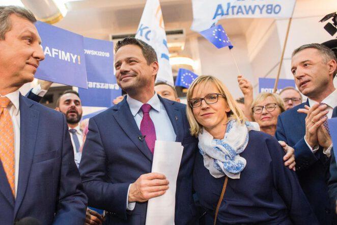 Syn Trzaskowskiego