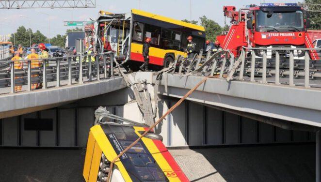 Warszawa: Kierowca autobusu