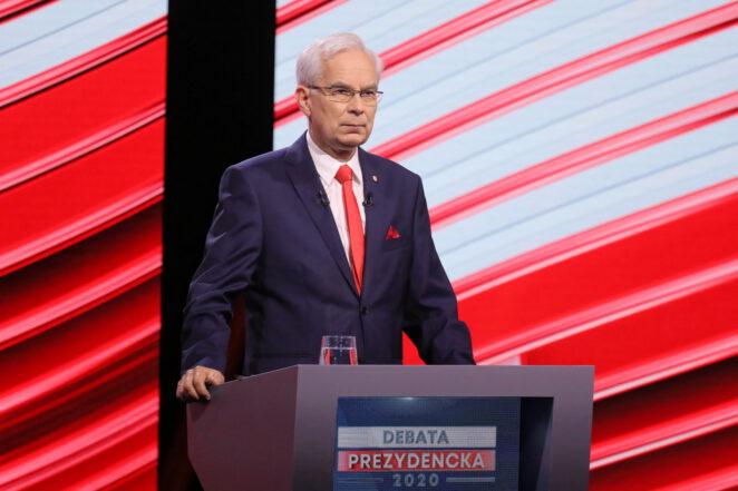wpadka podczas debaty prezydenckiej 2