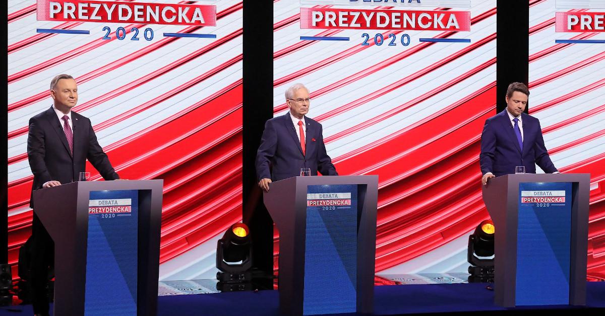 wpadka podczas debaty prezydenckiej