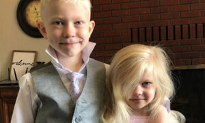 6-latek uratował młodszą siostrę. W wyniku heroicznego czynu doznał wielu urazów