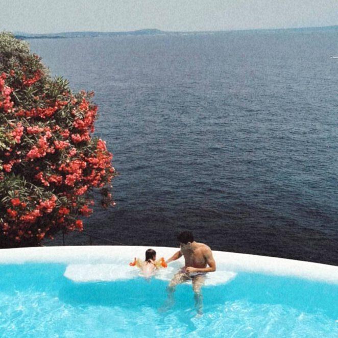 Anna Lewandowska na wakacjach