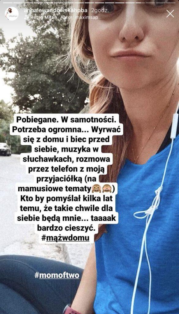 Anna Lewandowska potrzebuje wytchnienia