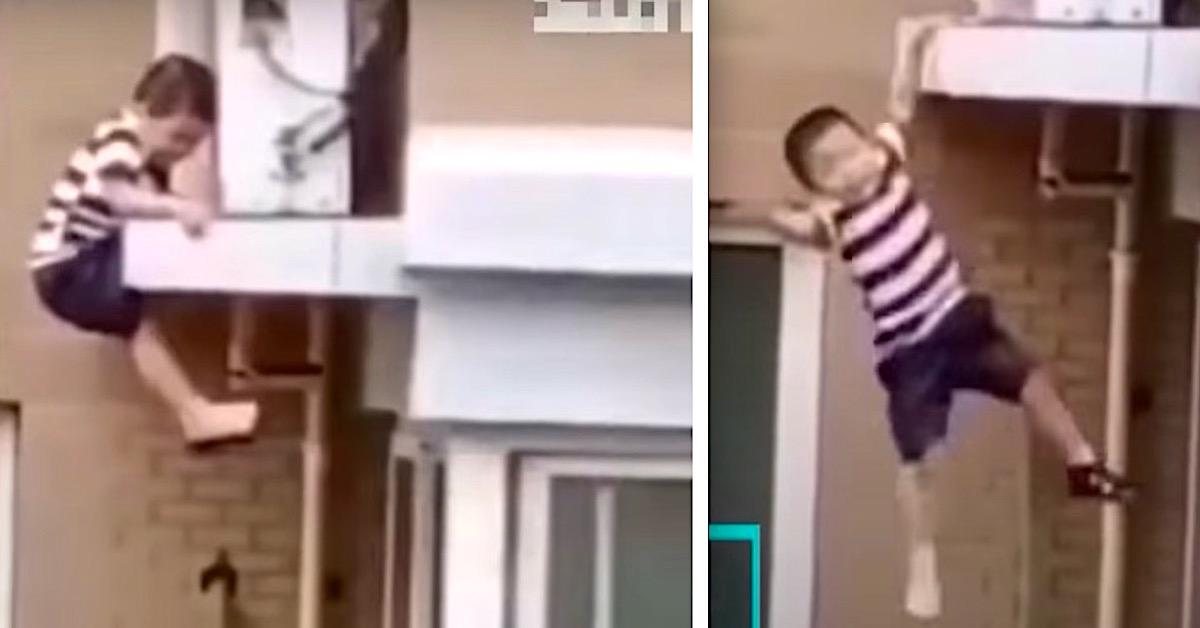 Dziecko spadło z czwartego piętra