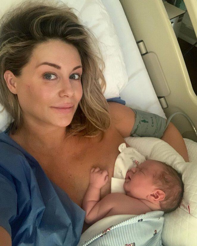Małgorzata Rozenek miesiąc po porodzie