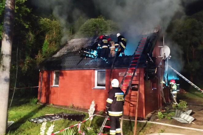 Pożar domu z programu Nasz nowy dom