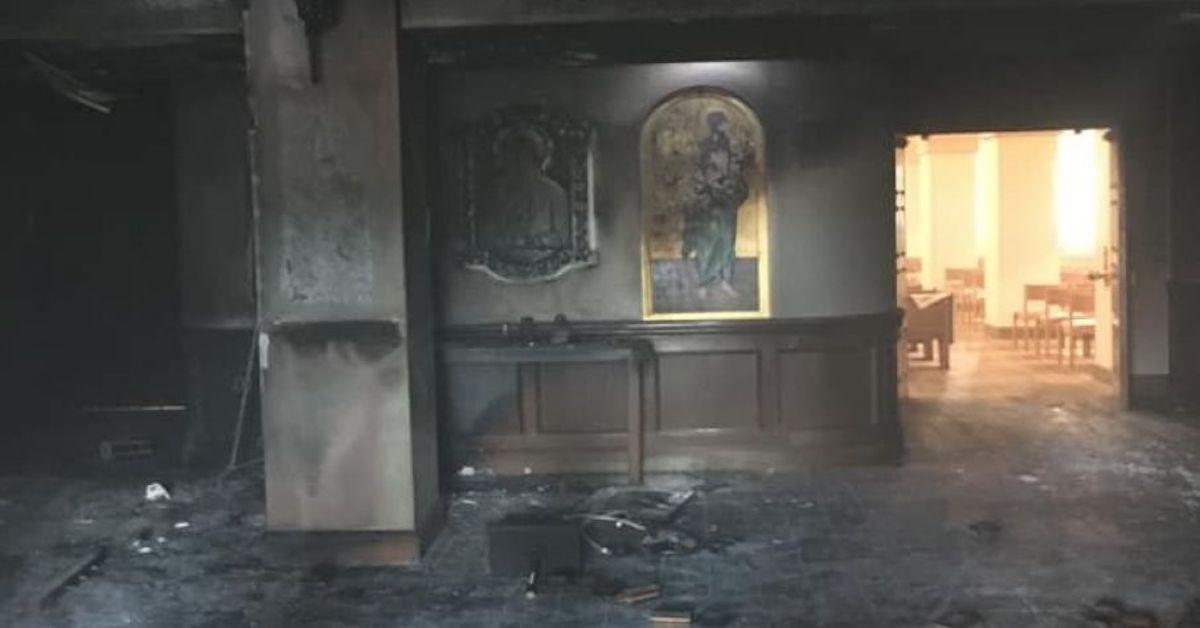 Podpalono kościół z wiernymi