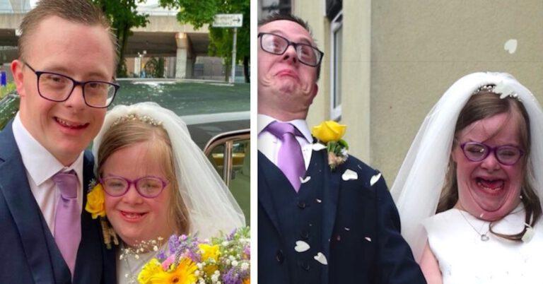 Ślub pary z zespołem Downa
